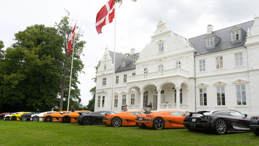 Un rassemblement des propriétaires de Koenigsegg