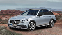 Mercedes Classe E All Terrain rendu