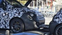 2017 Fiat 500 Abarth facelift spy photo