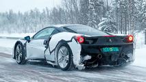 Ferrari 488 fotos espía