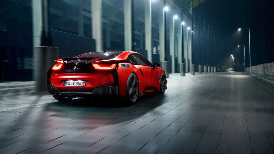 El BMW i8 de AC Schnitzer, repleto de fibra de carbono