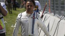 Felipe Massa, Williams, após seu acidente com seu carro
