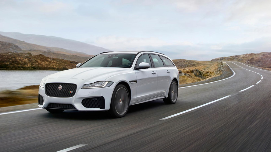 The design of the new station wagon Jaguar has declassified the Network