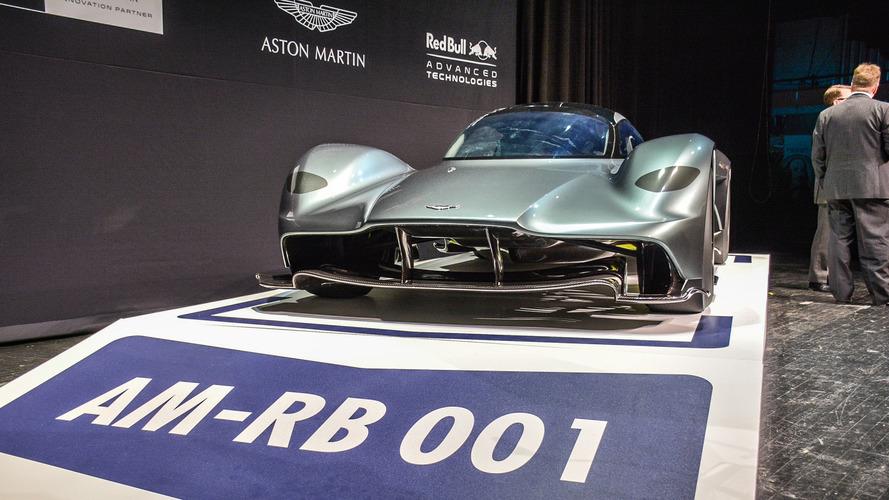 Aston Martin AM-RB 001 hybrid hits auto show circuit in Toronto