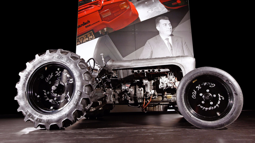 5 Lamborghini Centenario Retro Tractors To Be Built
