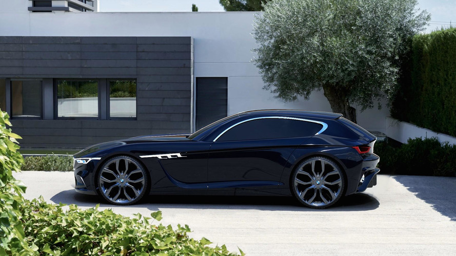 Modern BMW M Coupe Concept Gives The Clown Shoe More Class