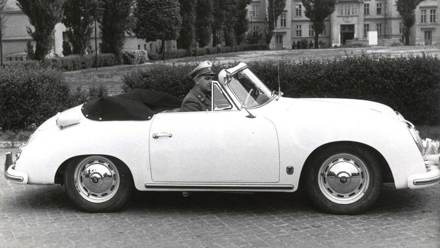 Avusturya otoyol polisine Porsche 911