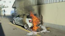 Audi A1 Quattro fire