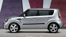 Kia Soul in Bright Silver