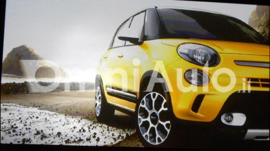 Fiat 500L Trekking, il