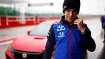 Honda Civic Type R Pierre Gasly et Brendon Hartley