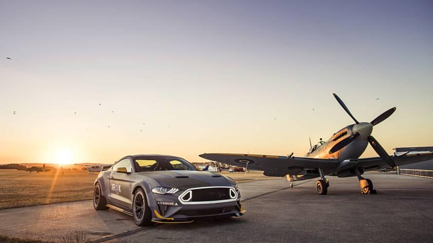 Une Ford Mustang de 700 ch aux couleurs de la Royal Air Force