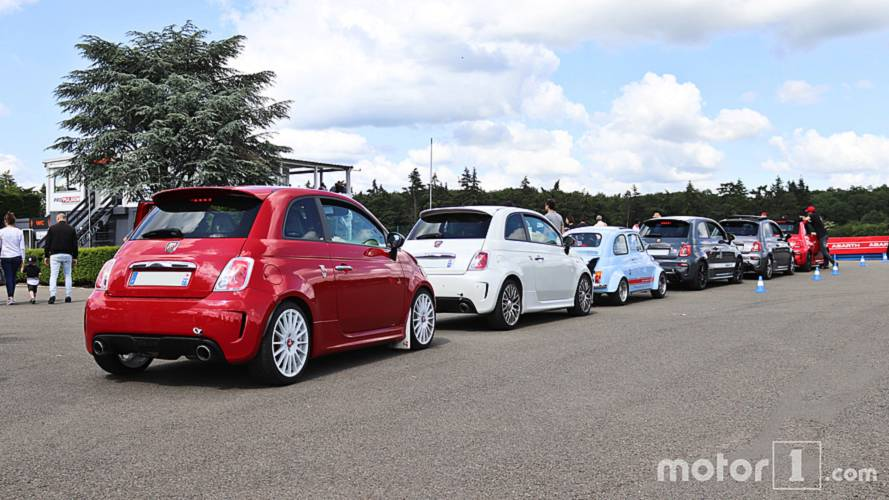 DIAPORAMA - Les modèles Abarth en images à l'Abarth Day 2018