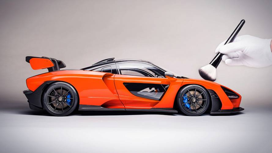 Check Out This $8,000 Model Of The McLaren Senna