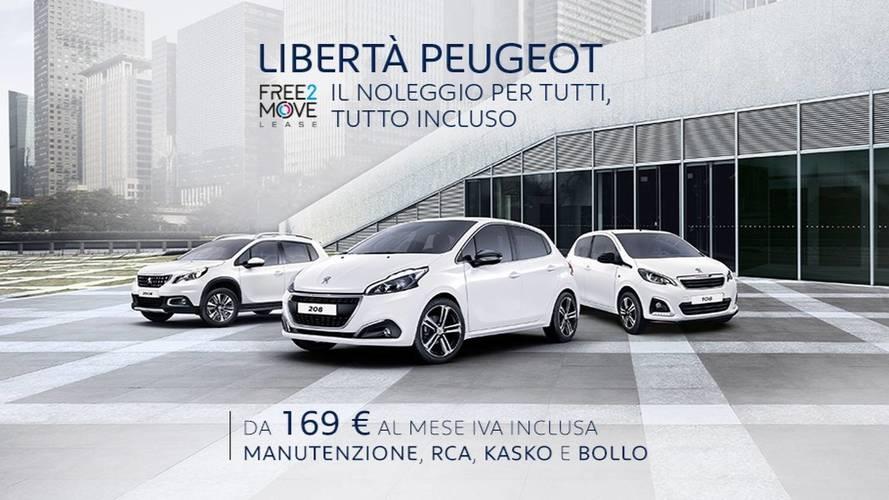 """Peugeot, la """"Libertà"""" di non comprare la macchina"""
