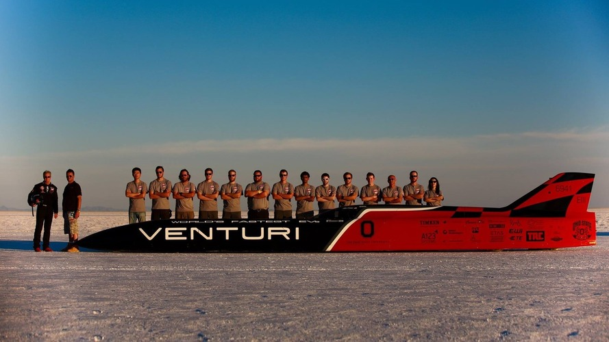 Venturi VBB-3 is the world's fastest electric car at 341 mph