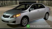 Novo Toyota Corolla 2009 é apresentado nos E.U.A e adianta novidades da versão brasileira