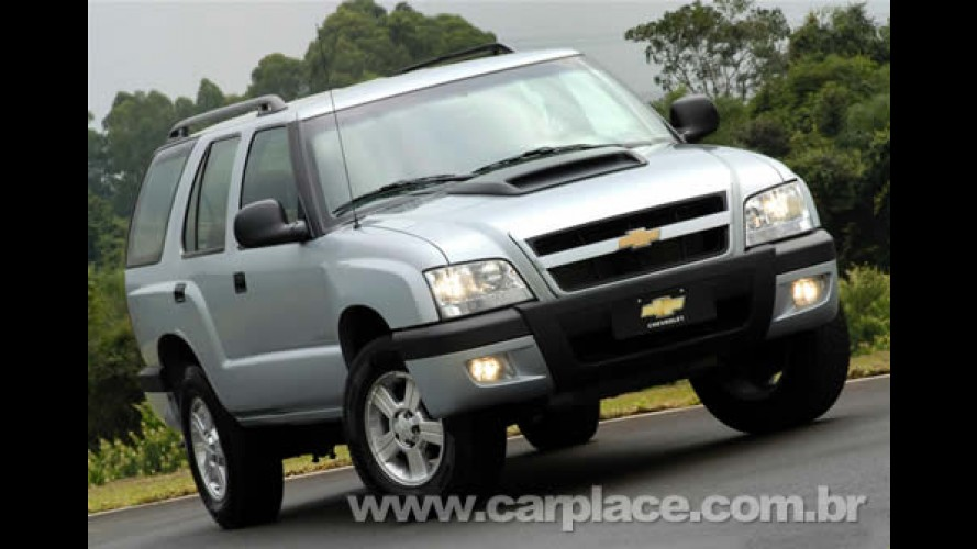Chevrolet lança a nova Blazer 2009 com preços de R$ 60.674 a R$ 135.379