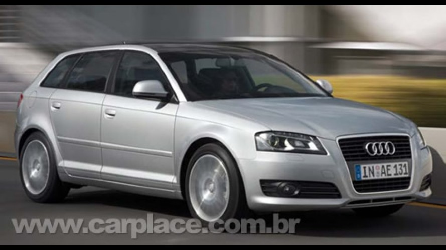 Audi divulga nova tabela de preços - A3 Sportback começa em R$ 96.088