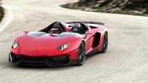 Lamborghini pleased with new Aventador J unveiling at Geneva