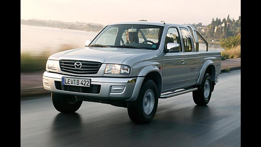 Mazda B-Serie: Pickup wurde aussen und innen aufgefrischt