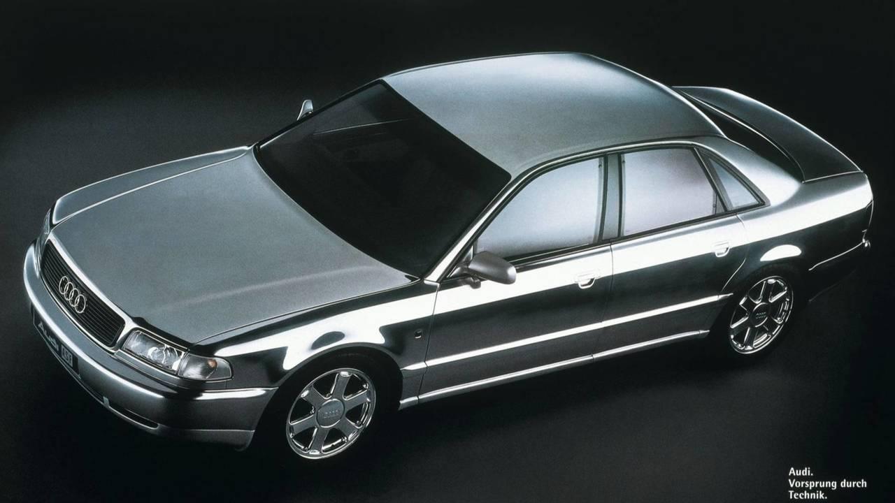 25 évvel ezelőtt - Audi ASF