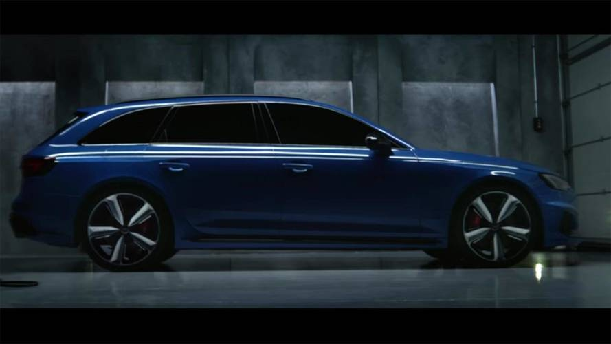 Audi RS4 Avant Cooling Down In New Ad Might Give You Goosebumps