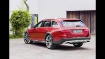 Mercedes Classe E All-Terrain: nova versão da perua mescla luxo e capacidade aventureira