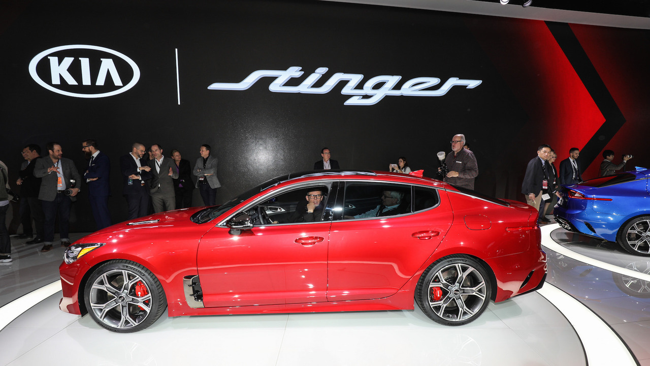 How Much Does It Cost To Ship A Car >> 2018 Kia Stinger is a stylish gran turismo with biturbo V6 power