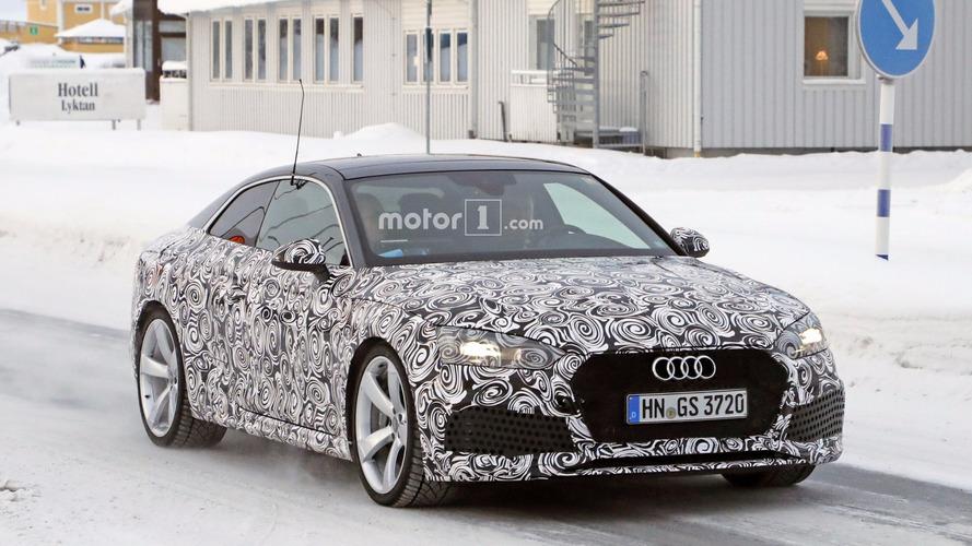 2018 Audi RS5 Coupe, Porsche'den gelen kaslarını sergiliyor