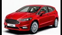 Novo Ford Fiesta 2017 é flagrado com a carroceria definitiva pela primeira vez