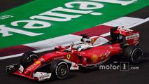Sebastian Vettel, Ferrari, Mexican Grand Prix
