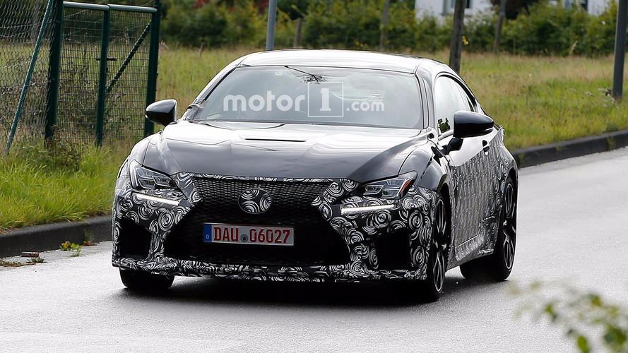 Lexus RC F Refresh Spy Shots