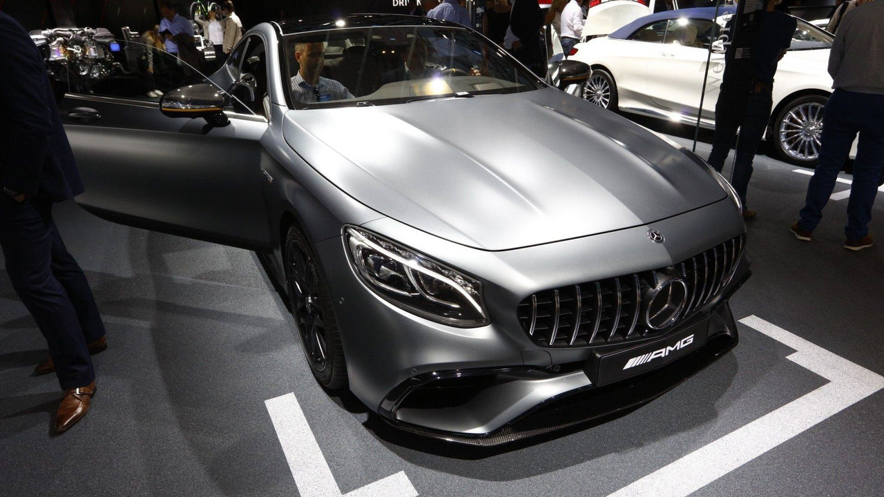 2018 mercedes s class coupe cabriolet including s63 s65 for Mercedes benz 2018 models