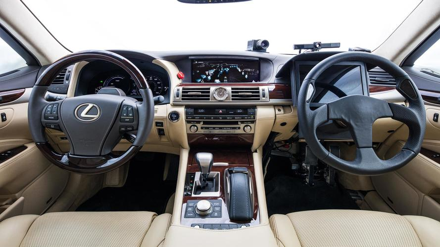 Toyota Builds Mule With 2 Steering Wheels To Test Autonomous Tech