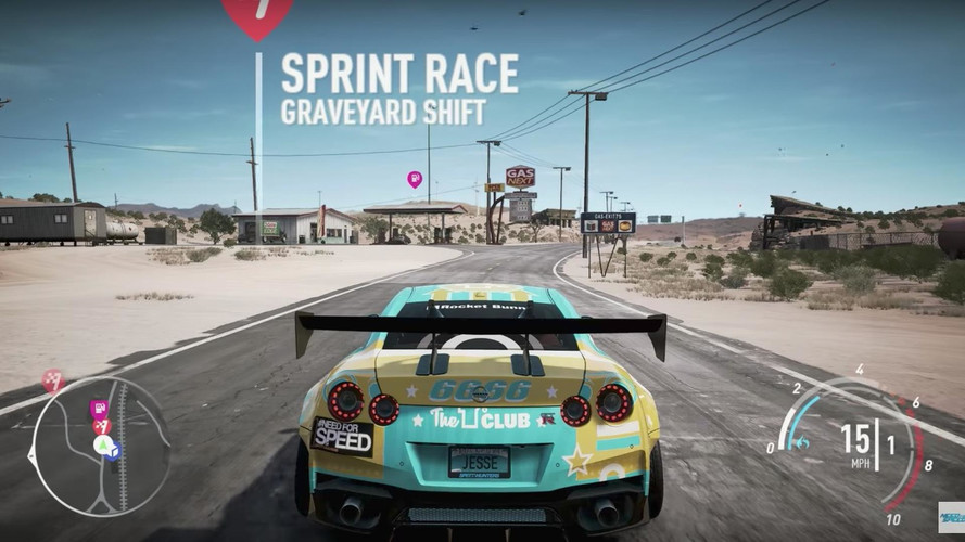 VIDÉO - Need For Speed Payback se montre alléchant