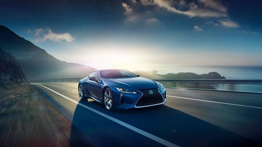 Lexus LC Blue Edition - L'effet papillon