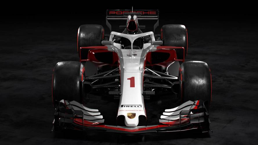 What would a Porsche F1 car look like?