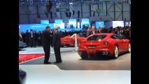 La Ferrari F12berlinetta vista da Marchionne, Montezemolo e i fratelli Elkann