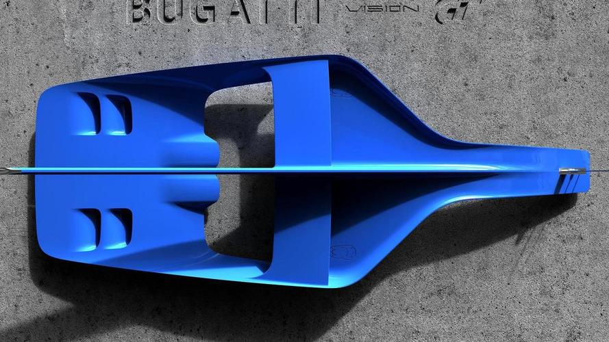 Bugatti Vision Gran Turismo breaks cover