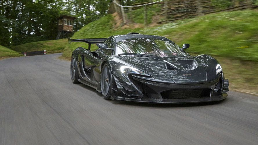 McLaren P1 LM : un temps record à Goodwood