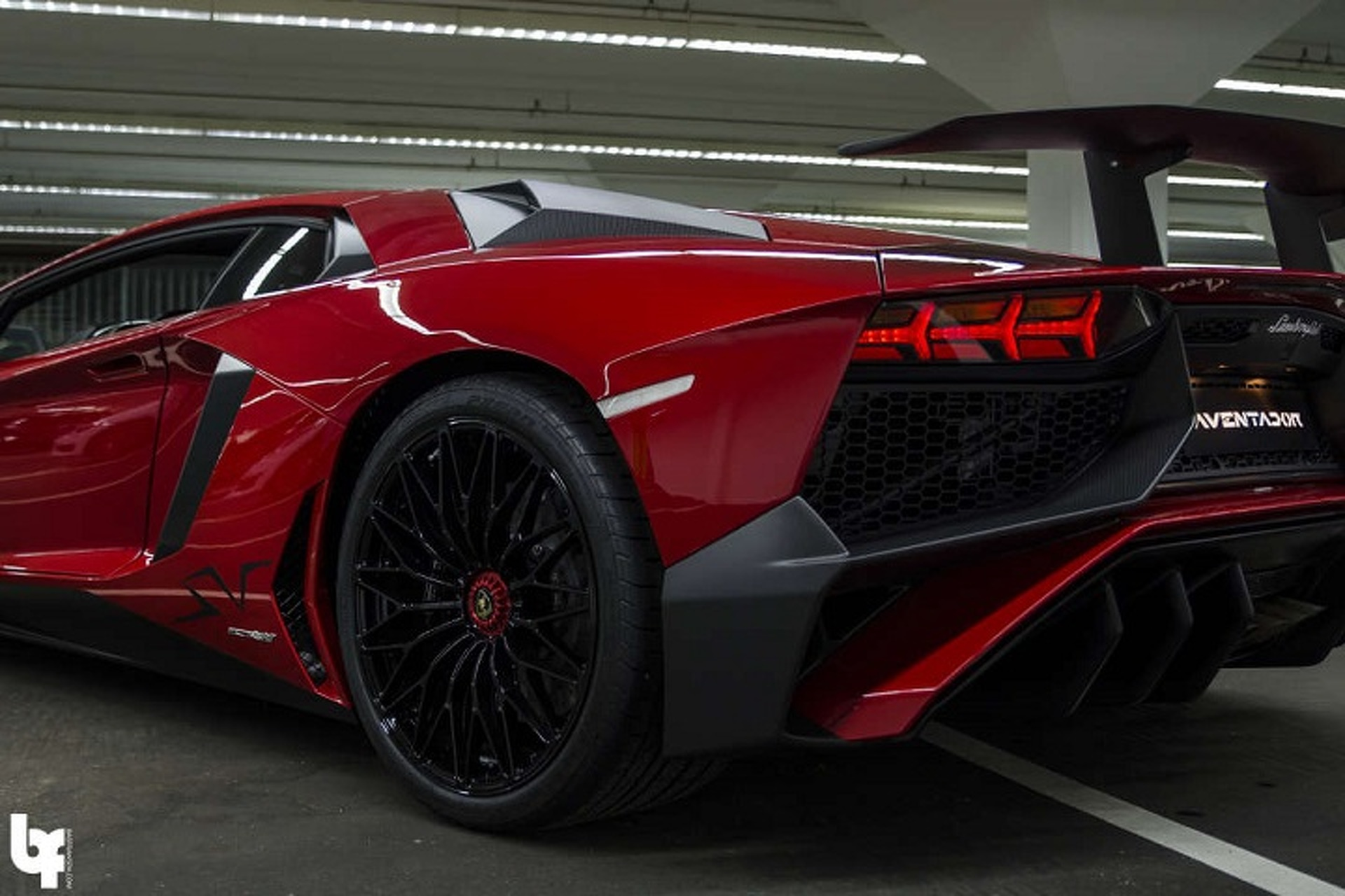 DJ Afrojack and His Blood Red Lamborghini Aventador SV