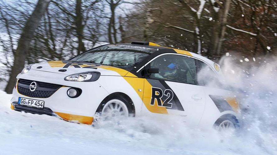 Opel Adam R2 Rally Car concept headed to Geneva