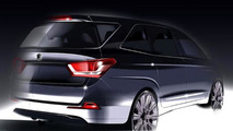 2014 SsangYong Rodius teaser image 30.1.2013