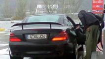 New Mercedes SLC Super Sports Car Spy Photos