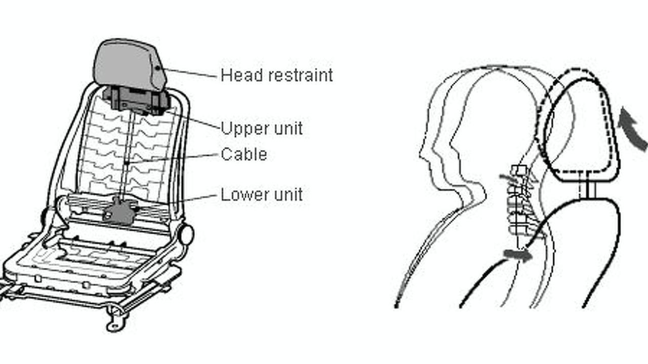 Toyota Active Headrest