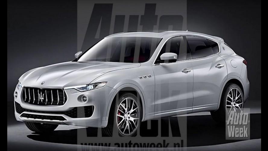 Vazou: este é o inédito Maserati Levante, primeiro SUV da marca