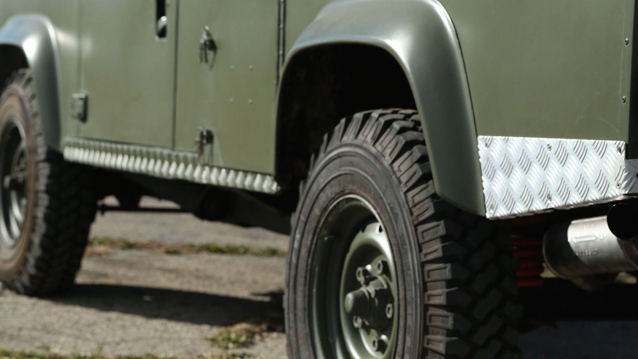 This land rover 110 is the military vehicle you ve always for Ebay motors land rover defender