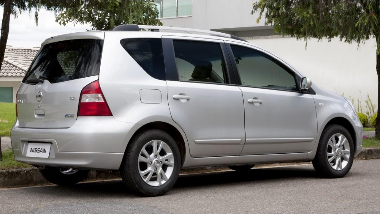 Nissan confirma fim de linha para minivan Livina no Brasil