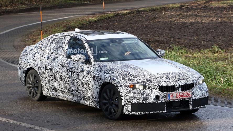 BMW M340i 2018: fotos espía en Nürburgring